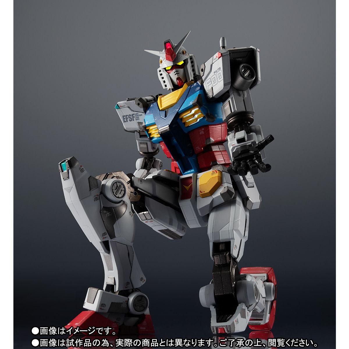 【限定販売】超合金×GUNDAM FACTORY YOKOHAMA『RX-78F00 GUNDAM』可動フィギュア-002