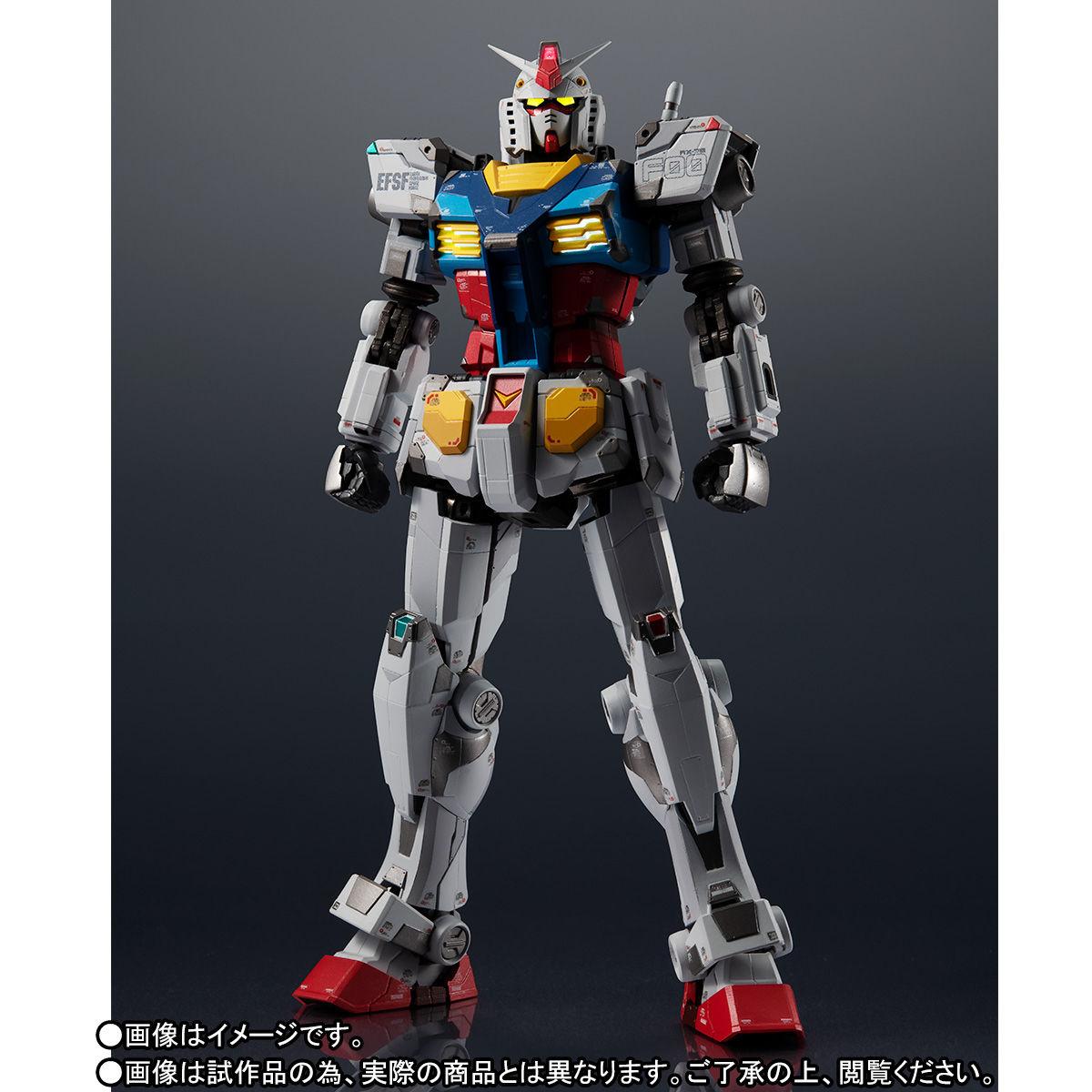 【限定販売】超合金×GUNDAM FACTORY YOKOHAMA『RX-78F00 GUNDAM』可動フィギュア-003