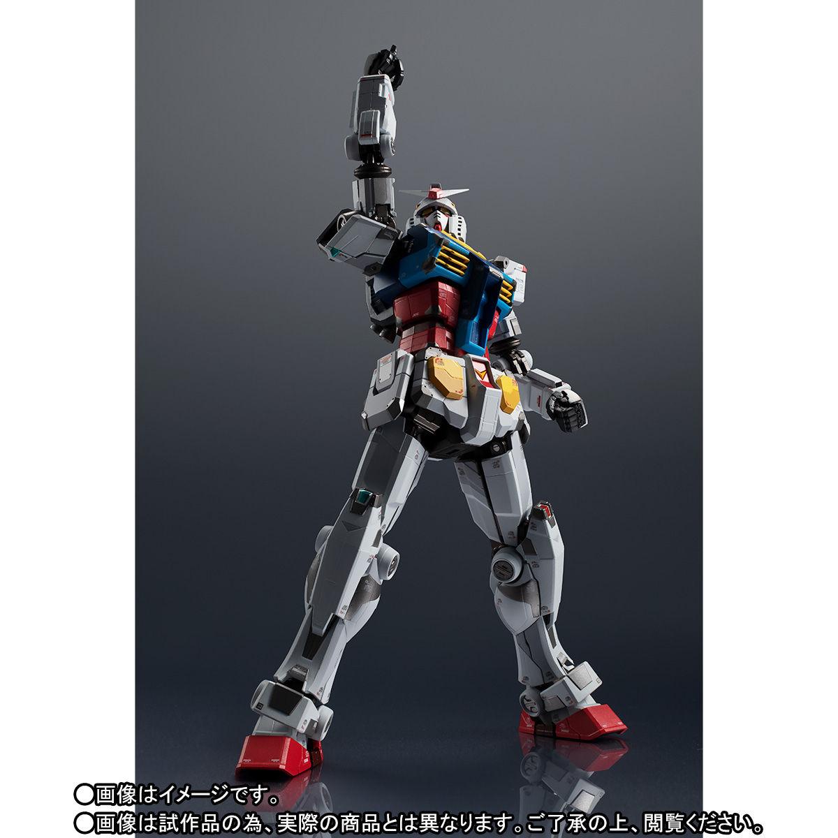 【限定販売】超合金×GUNDAM FACTORY YOKOHAMA『RX-78F00 GUNDAM』可動フィギュア-005