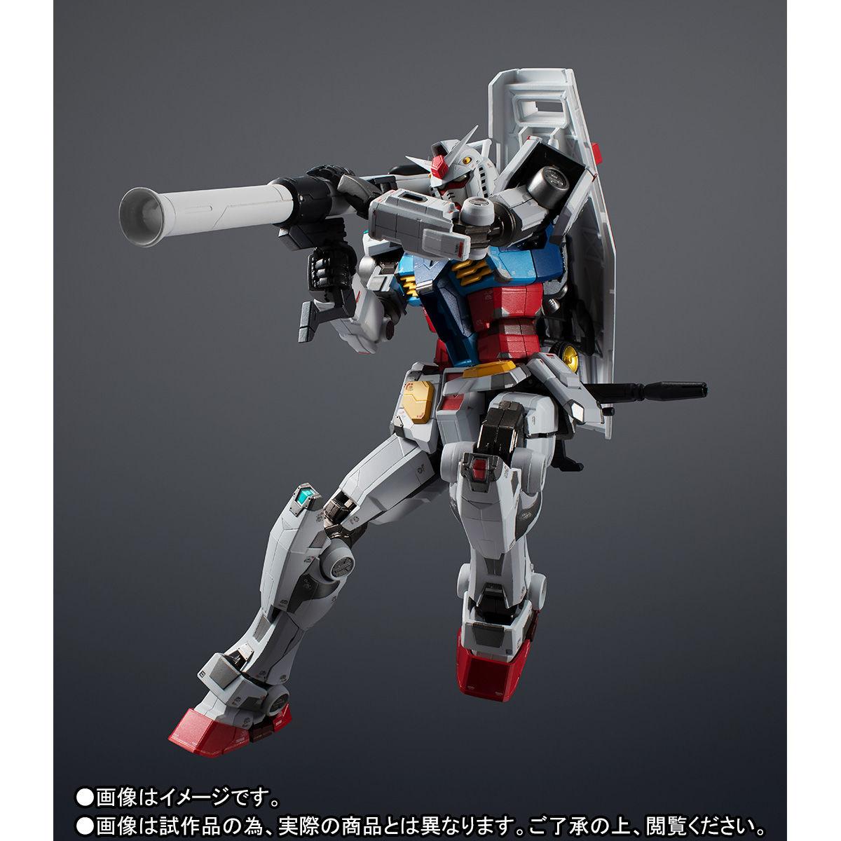 【限定販売】超合金×GUNDAM FACTORY YOKOHAMA『RX-78F00 GUNDAM』可動フィギュア-006