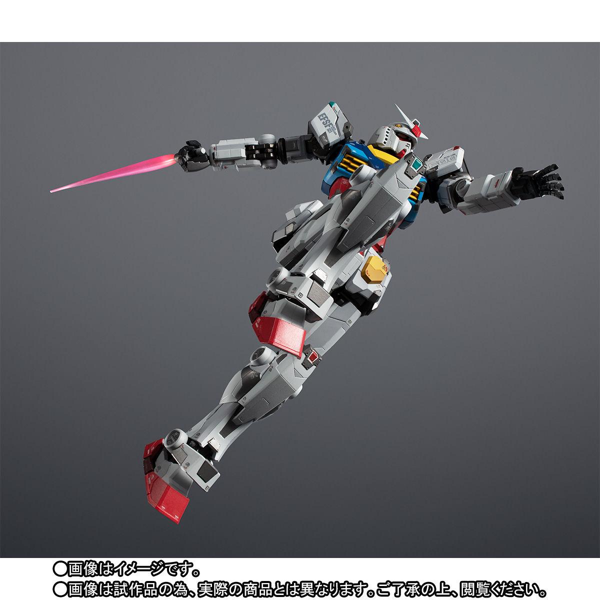 【限定販売】超合金×GUNDAM FACTORY YOKOHAMA『RX-78F00 GUNDAM』可動フィギュア-007