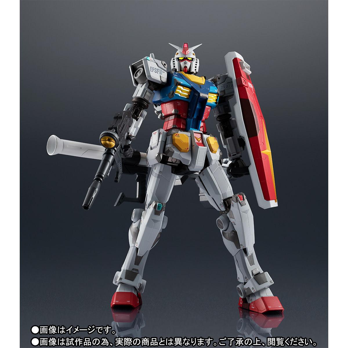 【限定販売】超合金×GUNDAM FACTORY YOKOHAMA『RX-78F00 GUNDAM』可動フィギュア-008