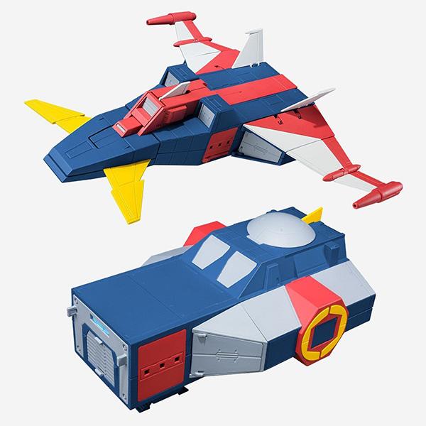 【限定販売】【食玩】スーパーミニプラ『トライダー・シャトル&トライダー・ニューシャトルセット』無敵ロボ トライダーG7 プラモデル