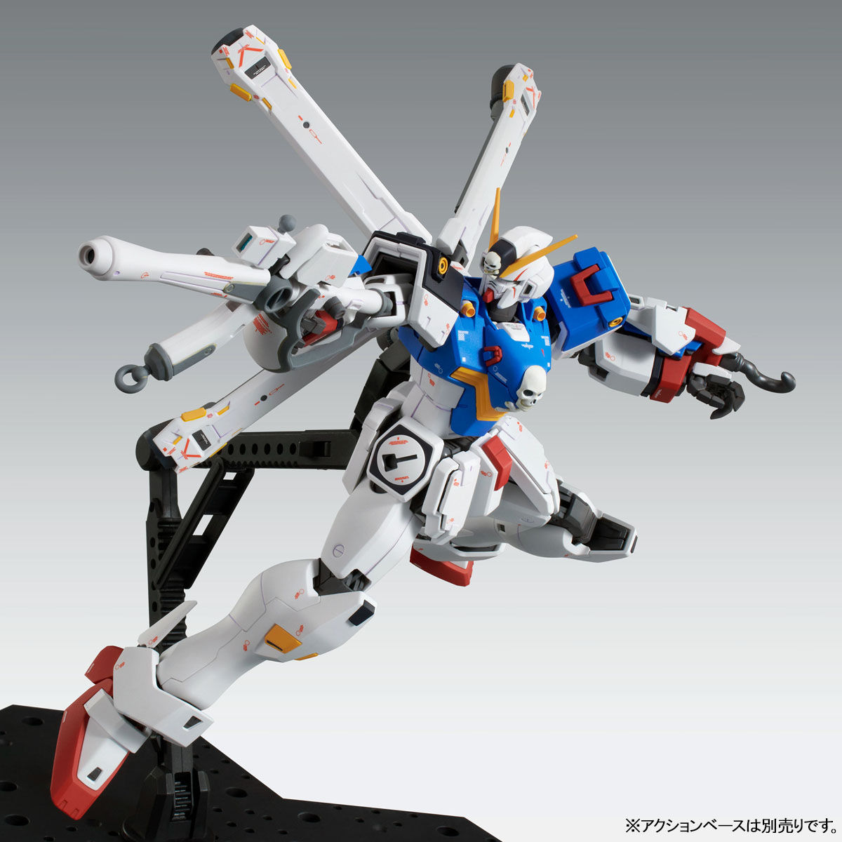 【限定販売】MG 1/100『クロスボーン・ガンダムX1(パッチワーク)Ver.Ka』プラモデル-006