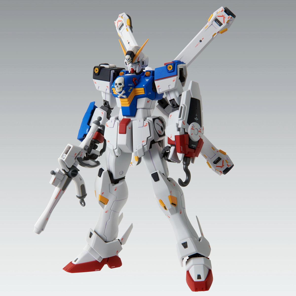 【限定販売】MG 1/100『クロスボーン・ガンダムX1(パッチワーク)Ver.Ka』プラモデル-007