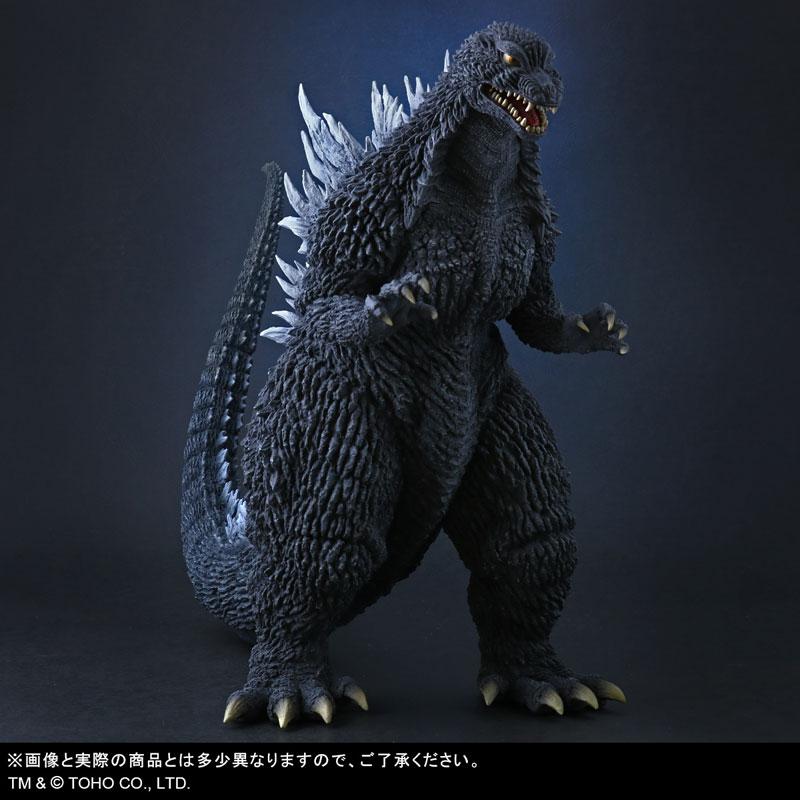 東宝大怪獣シリーズ『ゴジラ(2002)』ゴジラ×メカゴジラ 完成品フィギュア-001