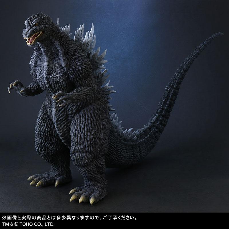 東宝大怪獣シリーズ『ゴジラ(2002)』ゴジラ×メカゴジラ 完成品フィギュア-002