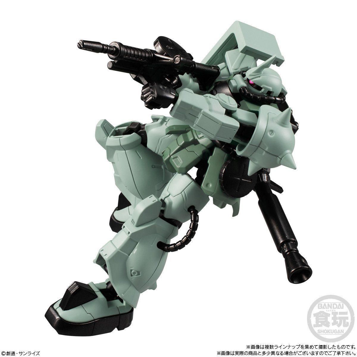 【食玩】機動戦士ガンダム『Gフレーム13』可動フィギュア 10個入りBOX-009