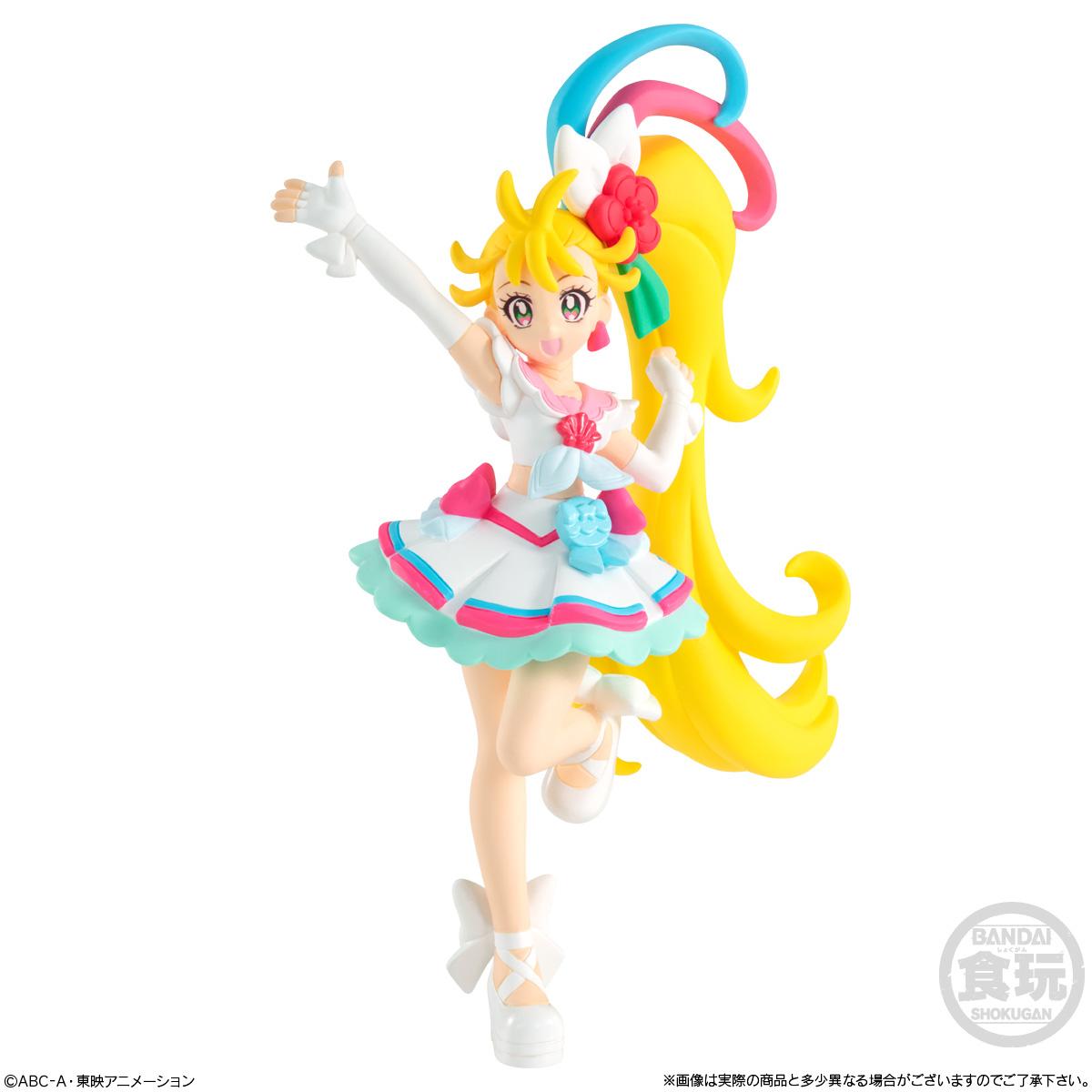 【食玩】トロプリ『トロピカル~ジュ!プリキュア キューティーフィギュア』10個入りBOX-003