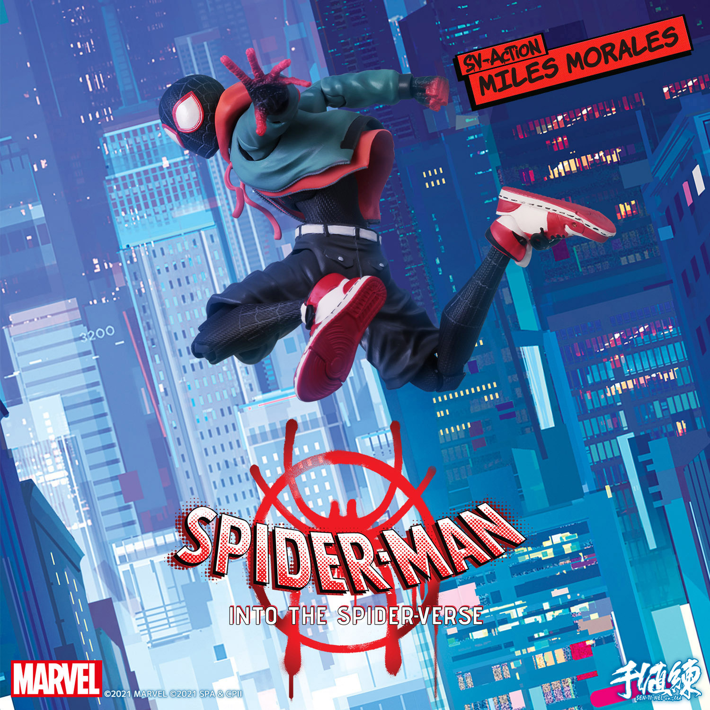 SVアクション『マイルス・モラレス/スパイダーマン』スパイダーマン: スパイダーバース 可動フィギュア-002