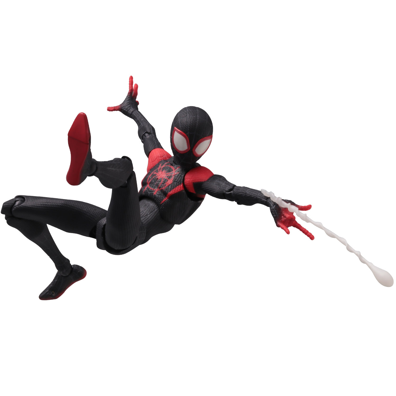 SVアクション『マイルス・モラレス/スパイダーマン』スパイダーマン: スパイダーバース 可動フィギュア-009