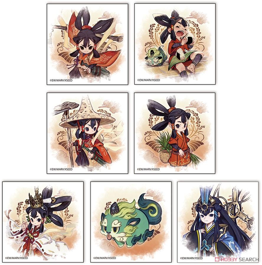 天穂のサクナヒメ『トレーディングぷちキャンバスコレクション』7個入りBOX-009
