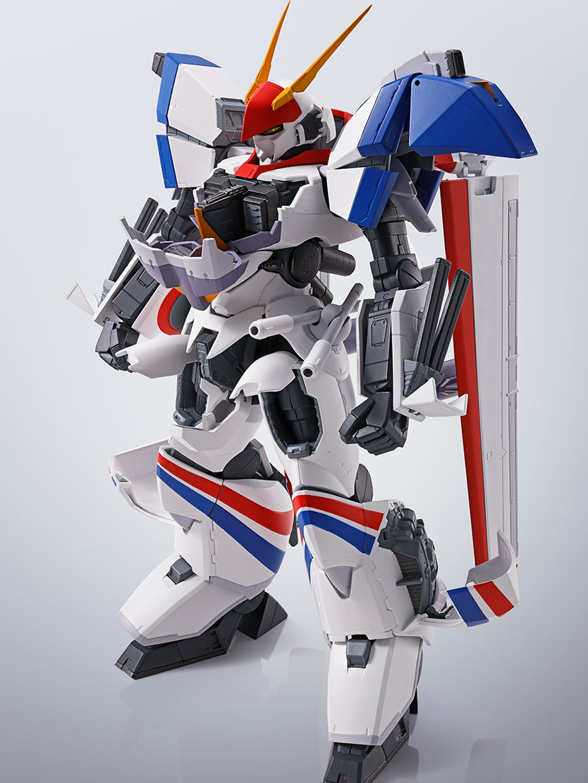 HI-METAL R『ドラグナー1カスタム 』機甲戦記ドラグナー 可動フィギュア-001