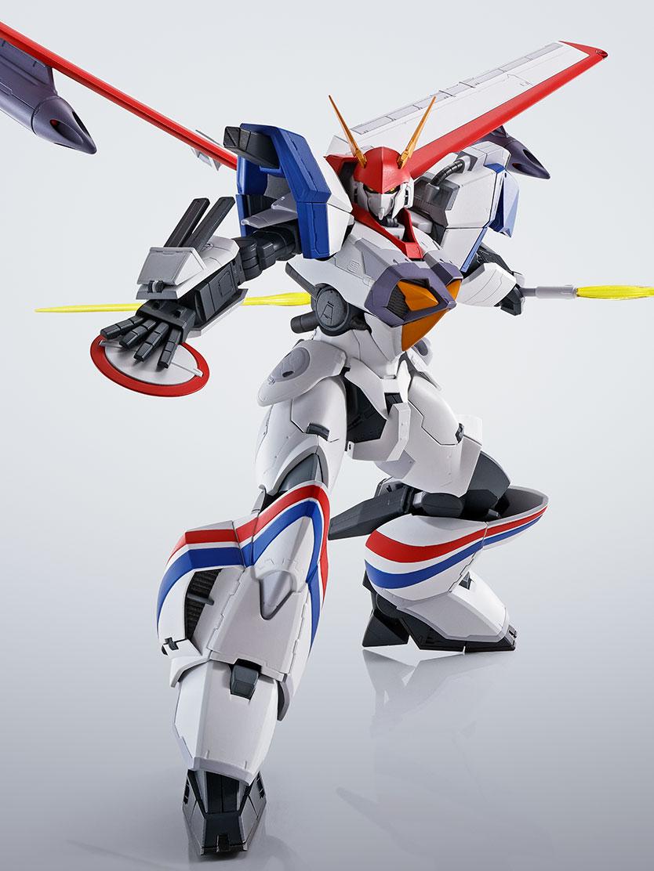 HI-METAL R『ドラグナー1カスタム 』機甲戦記ドラグナー 可動フィギュア-009