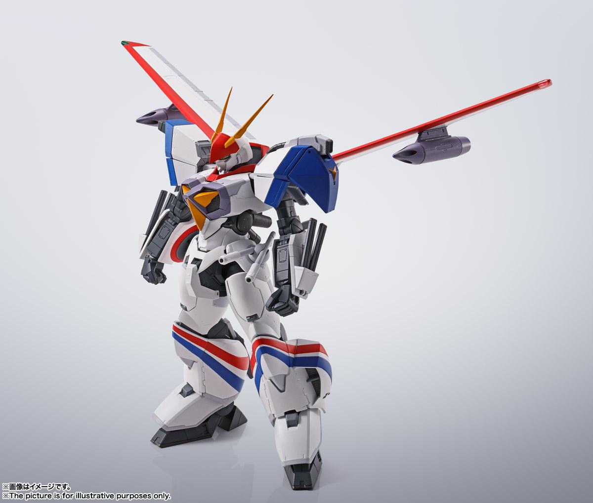 HI-METAL R『ドラグナー1カスタム 』機甲戦記ドラグナー 可動フィギュア-010