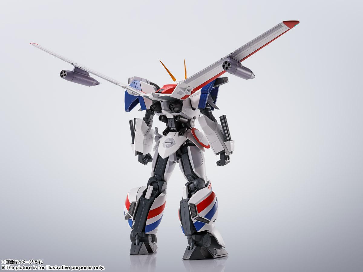 HI-METAL R『ドラグナー1カスタム 』機甲戦記ドラグナー 可動フィギュア-011