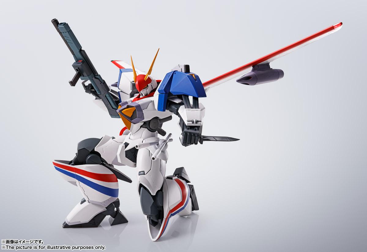 HI-METAL R『ドラグナー1カスタム 』機甲戦記ドラグナー 可動フィギュア-012