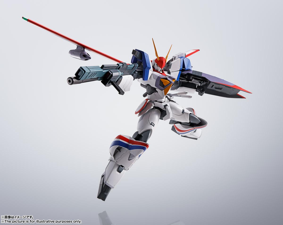 HI-METAL R『ドラグナー1カスタム 』機甲戦記ドラグナー 可動フィギュア-013