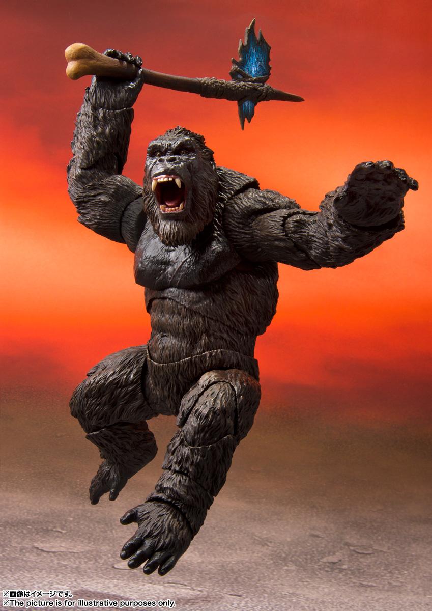 S.H.MonsterArts『KONG from Movie』GODZILLA VS. KONG 可動フィギュア-003