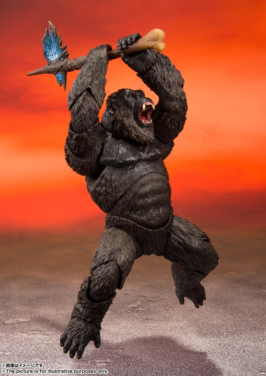 S.H.MonsterArts『KONG from Movie』GODZILLA VS. KONG 可動フィギュア-004
