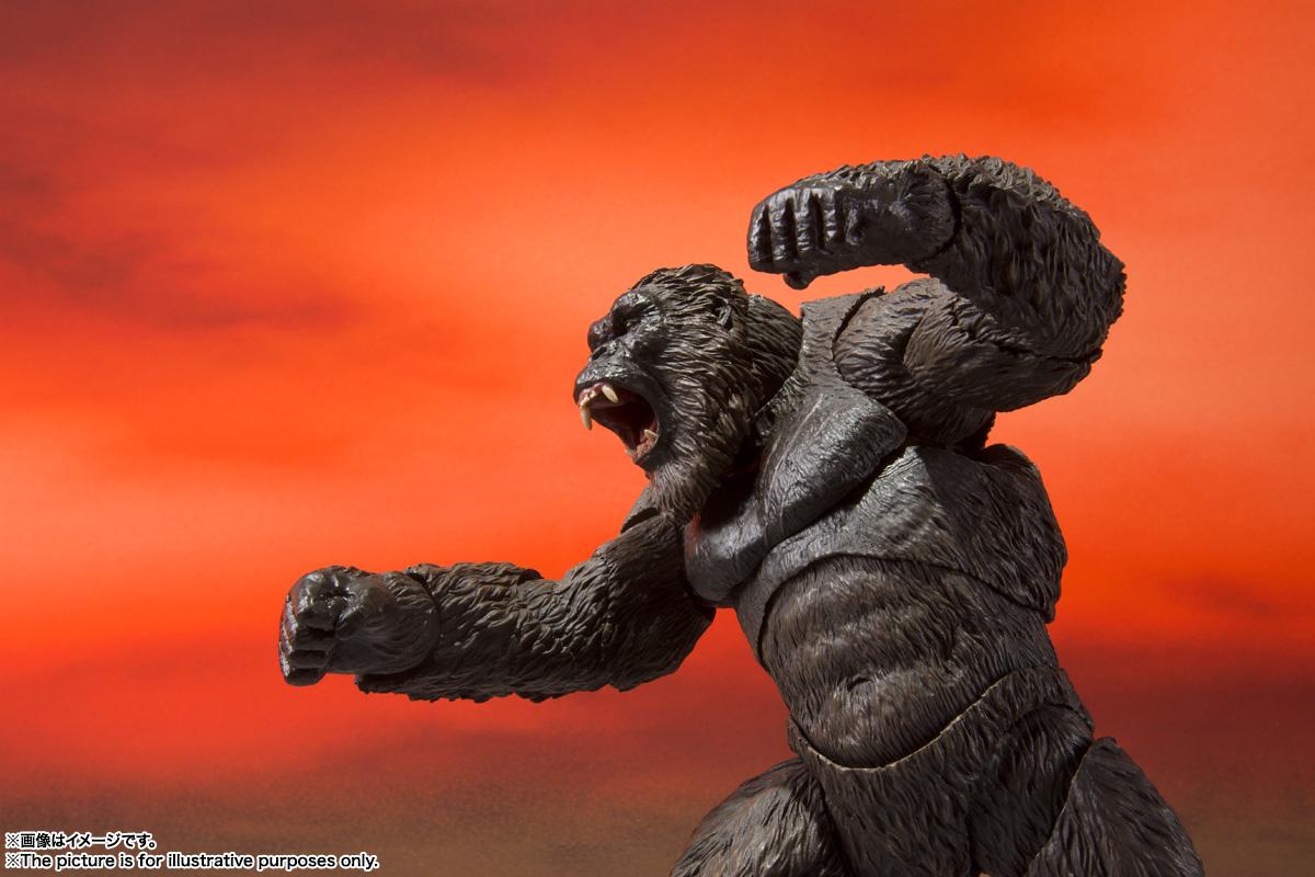 S.H.MonsterArts『KONG from Movie』GODZILLA VS. KONG 可動フィギュア-006