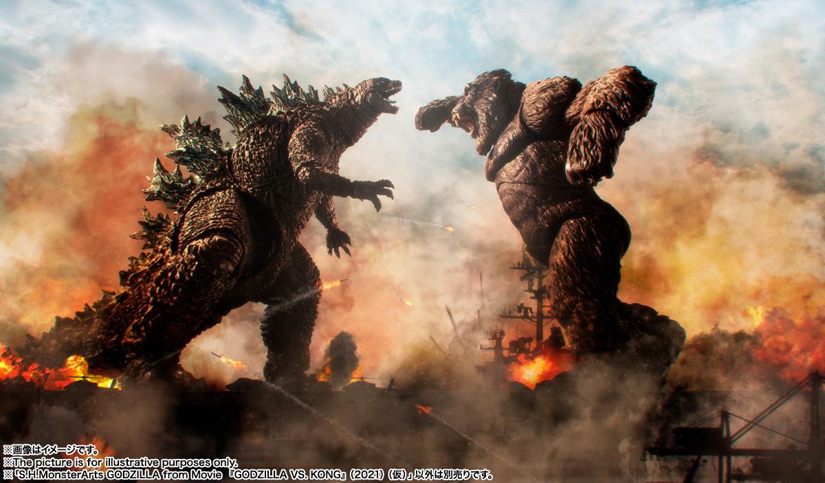 S.H.MonsterArts『KONG from Movie』GODZILLA VS. KONG 可動フィギュア-013