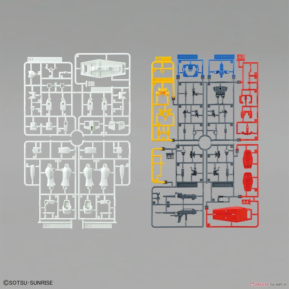 ENTRY GRADE『RX-78-2 ガンダム』1/144 プラモデル-006