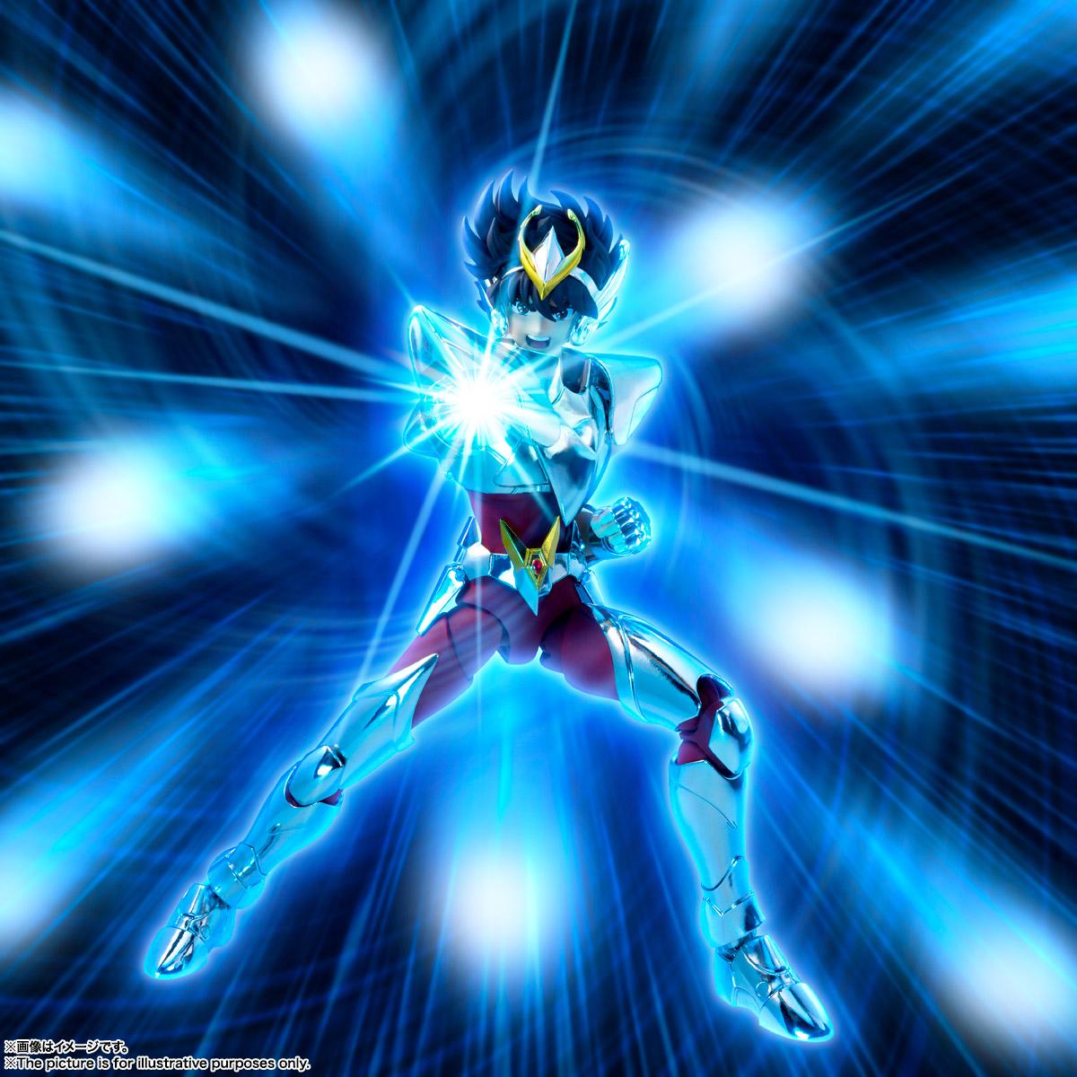 聖闘士聖衣神話EX『ペガサス星矢(最終青銅聖衣)』聖闘士星矢 可動フィギュア-012
