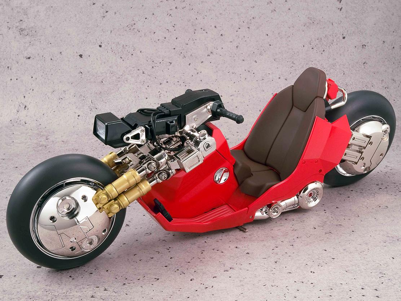 ポピニカ魂 PROJECT BM!『金田のバイク 〈リバイバル版〉』AKIRA 1/6 可動モデル-004