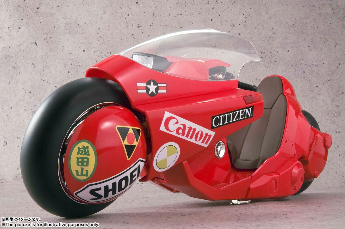 ポピニカ魂 PROJECT BM!『金田のバイク 〈リバイバル版〉』AKIRA 1/6 可動モデル-012