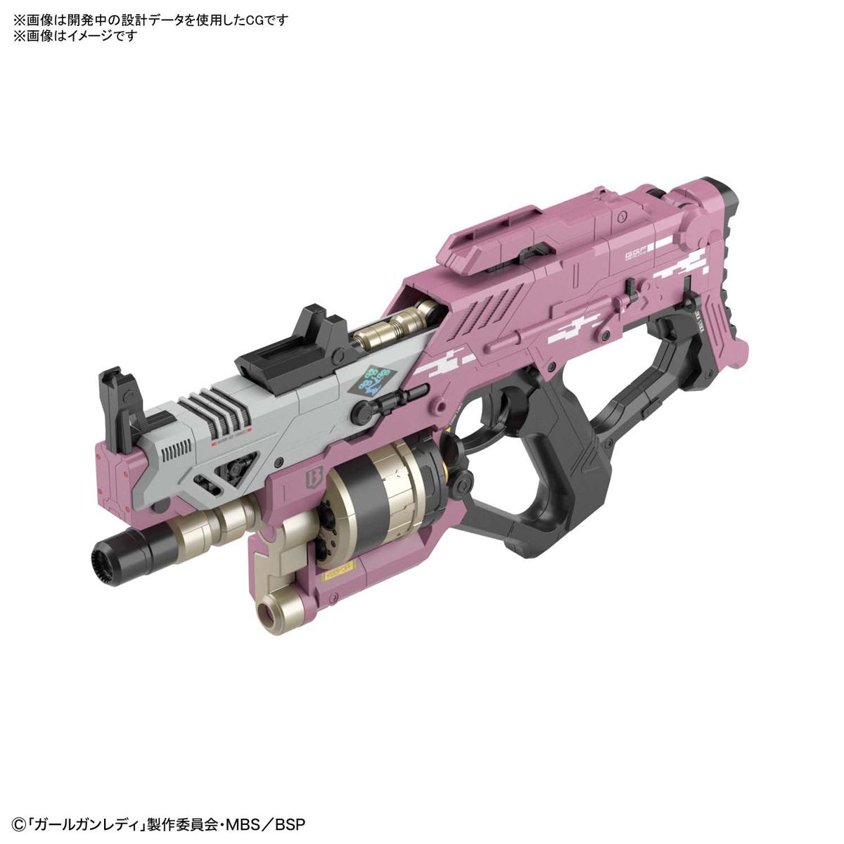 ガールガンレディ『ブラストガールガン Ver.アルファタンゴ』GGL 1/1 プラモデル-008
