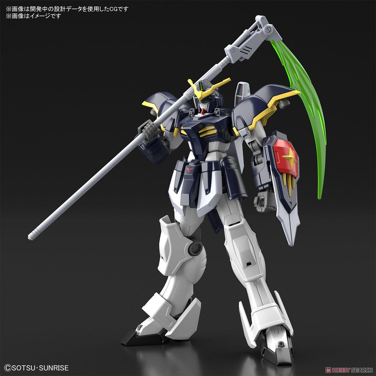 HGAC 1/144『ガンダムデスサイズ』新機動戦記ガンダムW プラモデル-001