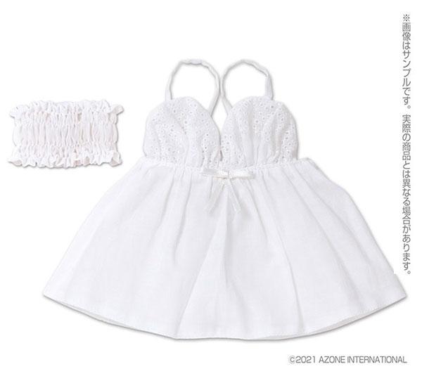 AZO2『スカラップレースキャミソール[ホワイト]』1/3 ドール服