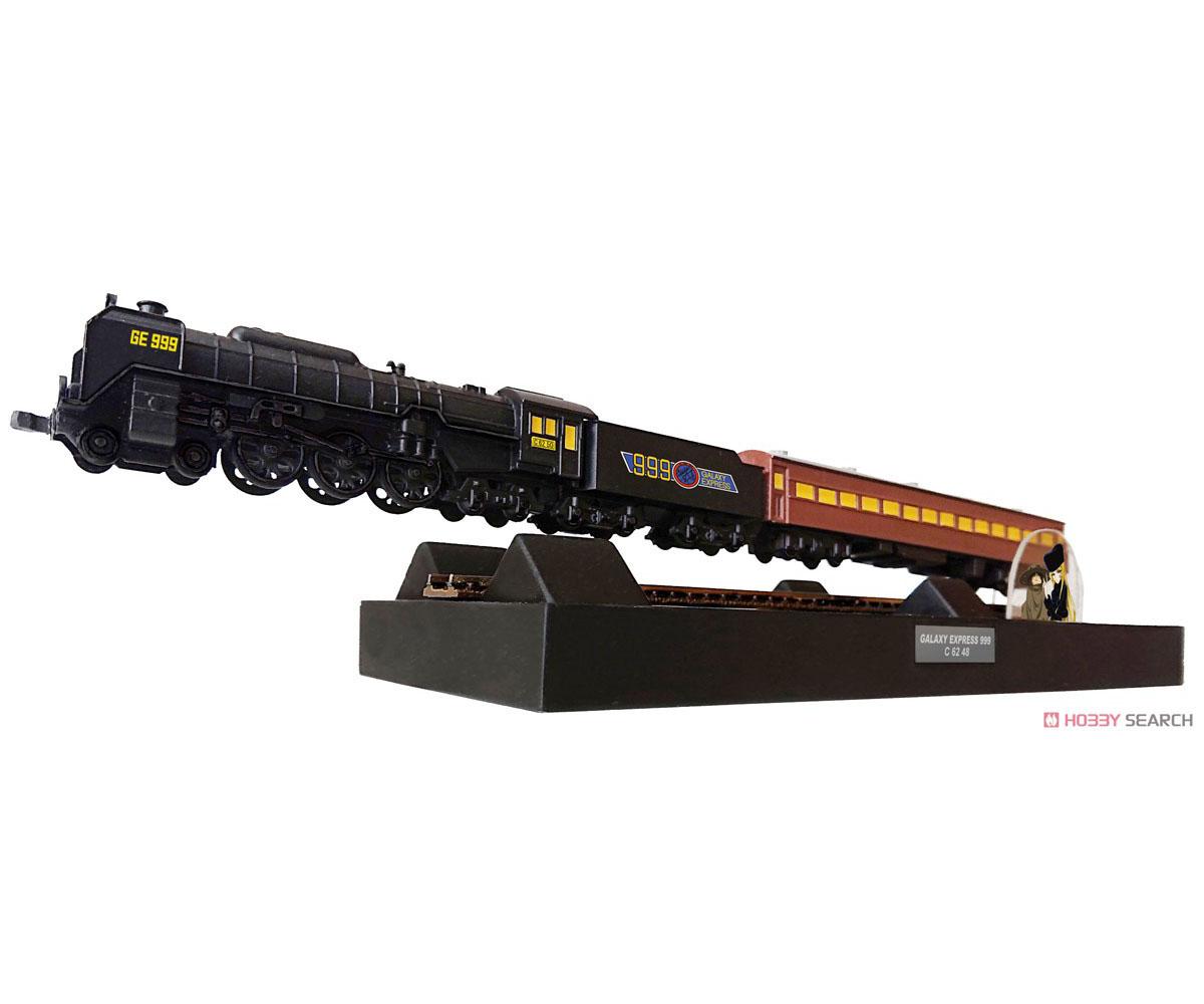銀河鉄道999『フローティングモデル 銀河超特急999号 TVアニメバージョン』一部組立式 模型-001