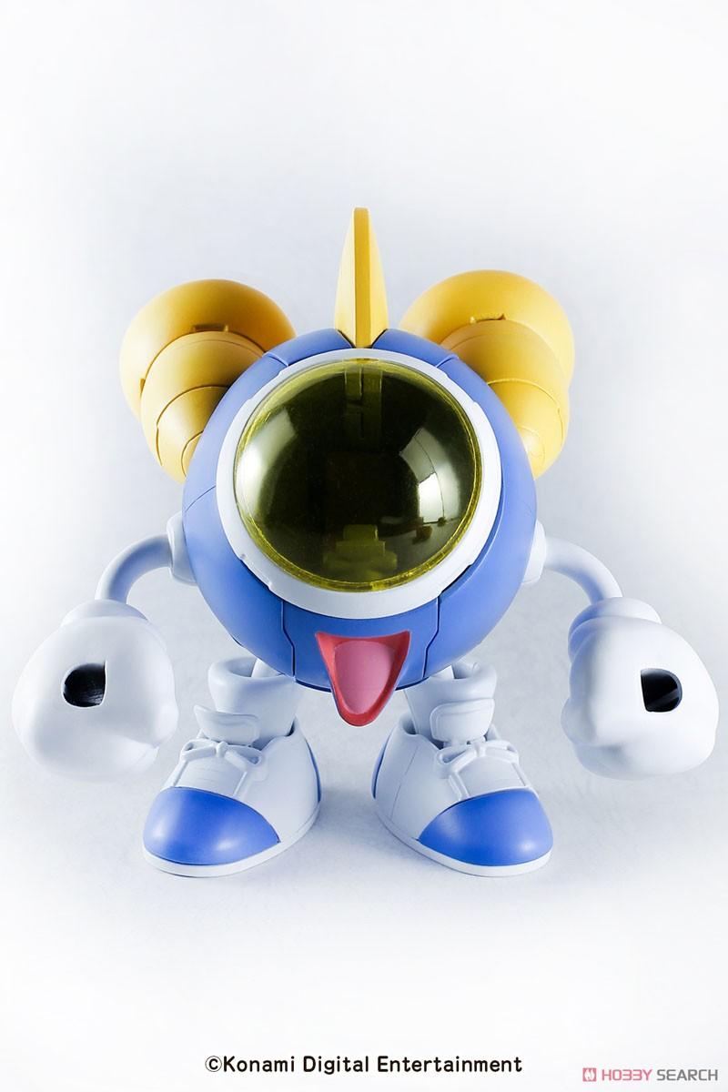 ツインビー レインボーベルアドベンチャー『ツインビー リニューアルバージョン』1/100 プラモデル-002