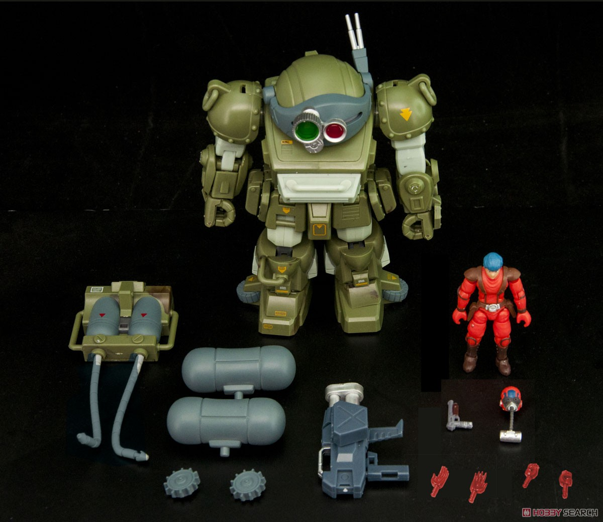 B2FIVE『マーシィドッグ ATM-09-WR』装甲騎兵ボトムズ デフォルメ可動フィギュア-014
