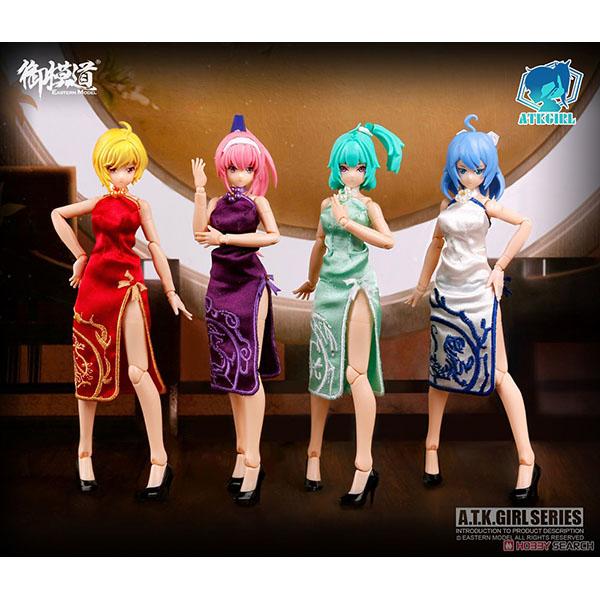 A.T.K.GIRL『四聖獣 チャイナドレス オプションパック』1/12 プラモデル