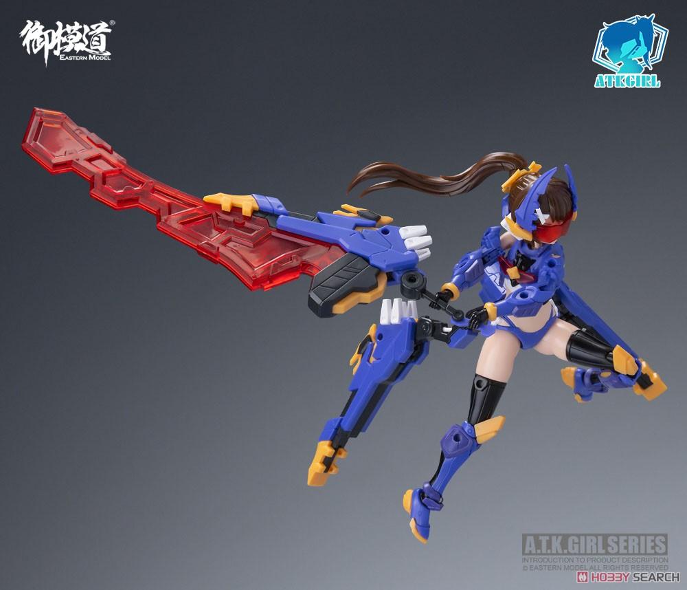 A.T.K.GIRL『クワガタガール・タイタン』1/12 プラモデル-006