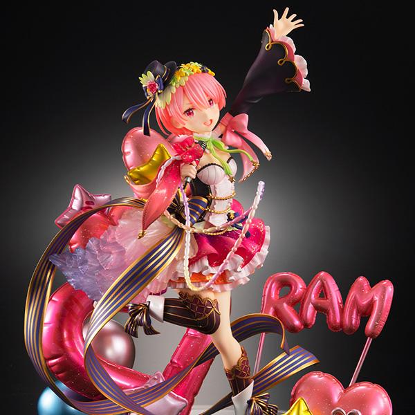 【限定販売】Re:ゼロから始める異世界生活『ラム -アイドルVer-』1/7 美少女フィギュア