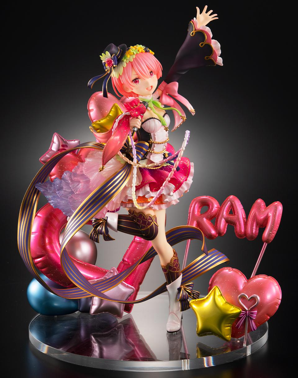 【限定販売】Re:ゼロから始める異世界生活『ラム -アイドルVer-』1/7 美少女フィギュア-002