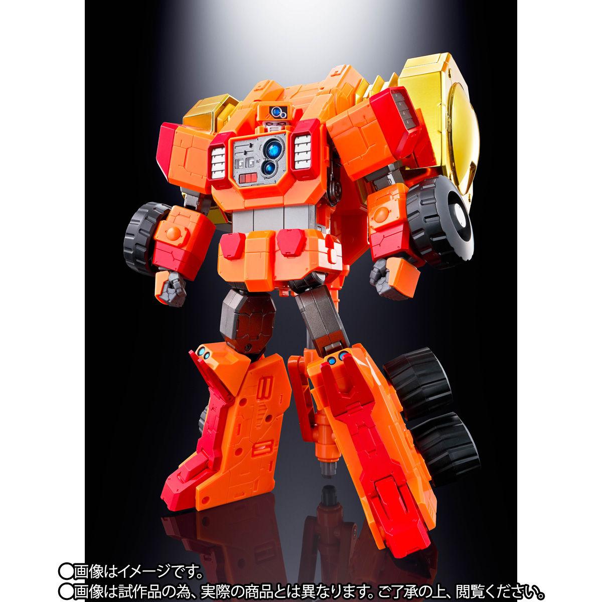 【限定販売】超合金魂『GX-69R ゴルディーマーグ【究極の勇者王Ver.】』可動フィギュア-003