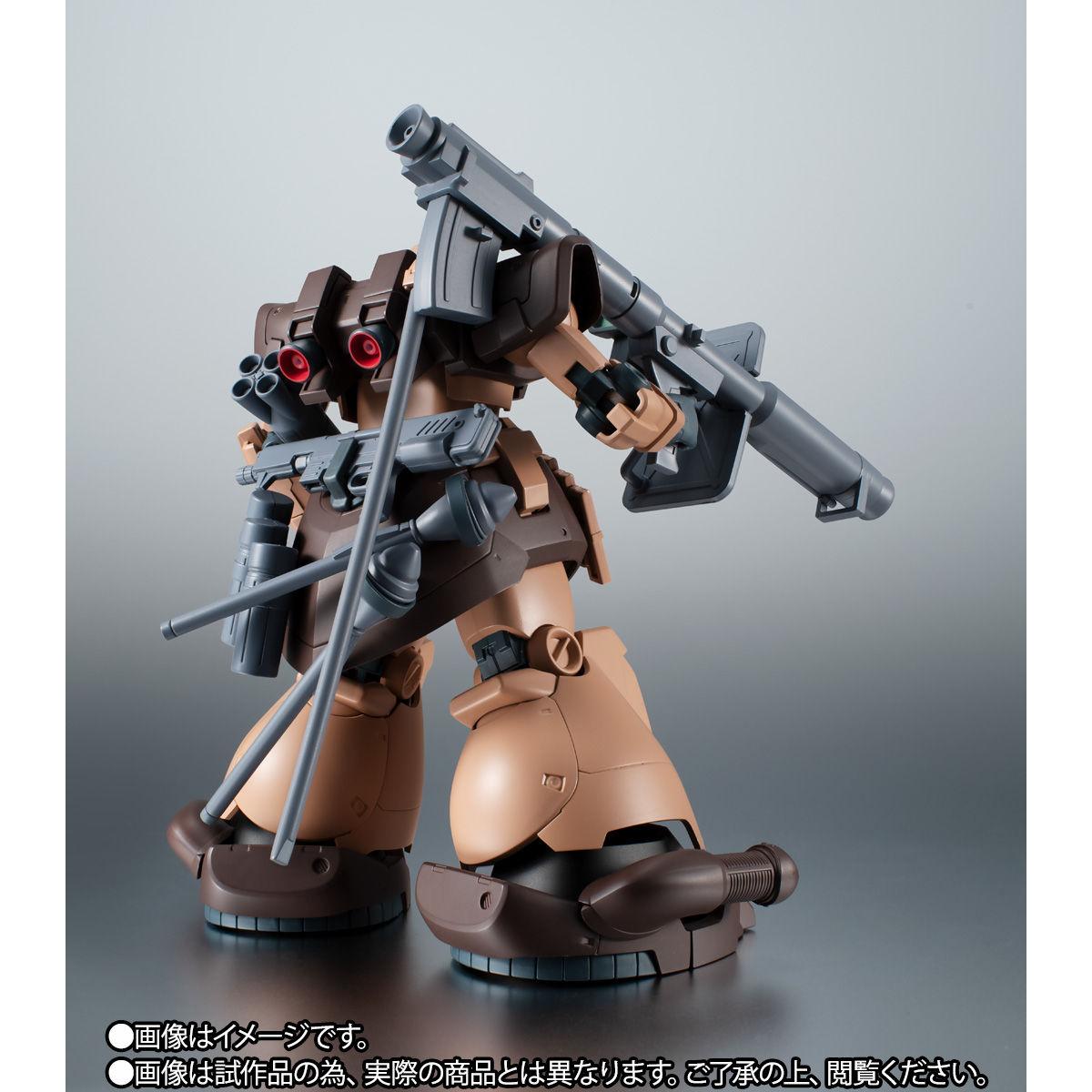 【限定販売】ROBOT魂〈SIDE MS〉『MS-09F/TROP ドム・トローペン キンバライド基地仕様 ver. A.N.I.M.E.』ガンダム0083 可動フィギュア-009