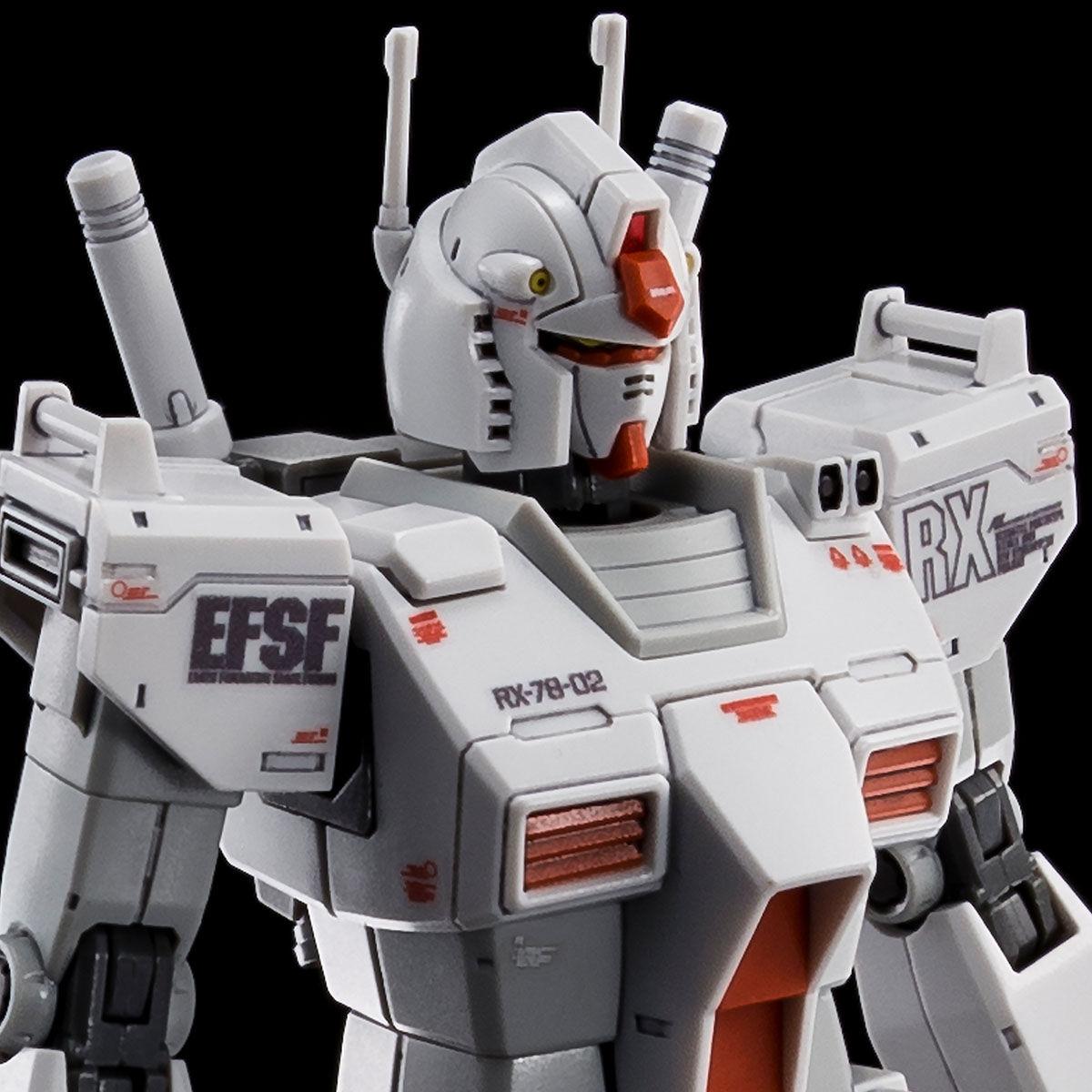 【限定販売】【2次】HG 1/144『RX-78-02 ガンダム ロールアウトカラー(GUNDAM THE ORIGIN版)』プラモデル-001