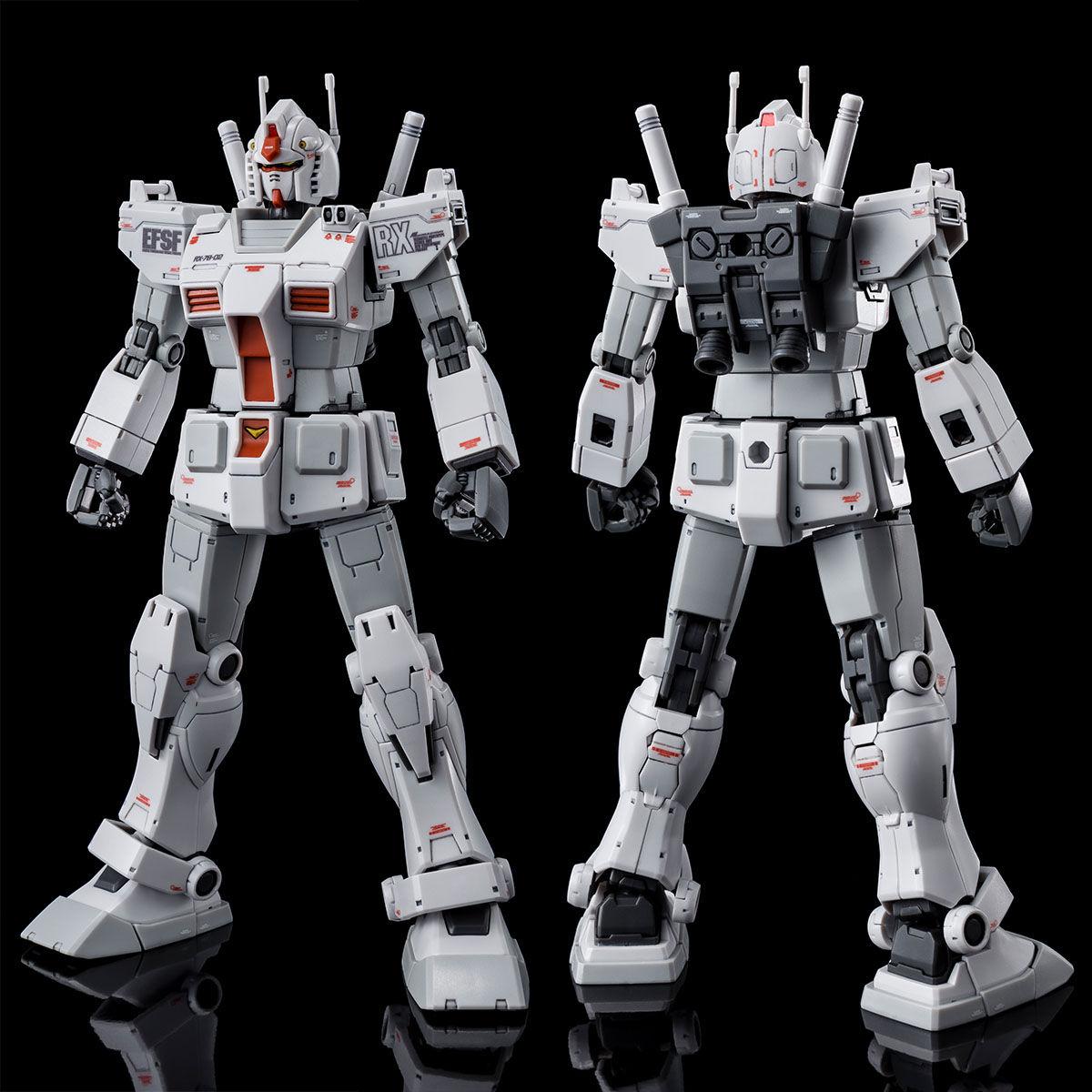 【限定販売】【2次】HG 1/144『RX-78-02 ガンダム ロールアウトカラー(GUNDAM THE ORIGIN版)』プラモデル-002