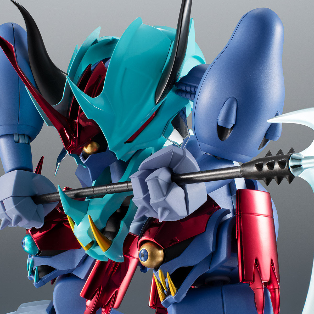 【限定販売】ROBOT魂〈SIDE MASHIN〉『ガッタイダー 30周年特別記念版』魔神英雄伝ワタル 可動フィギュア-001