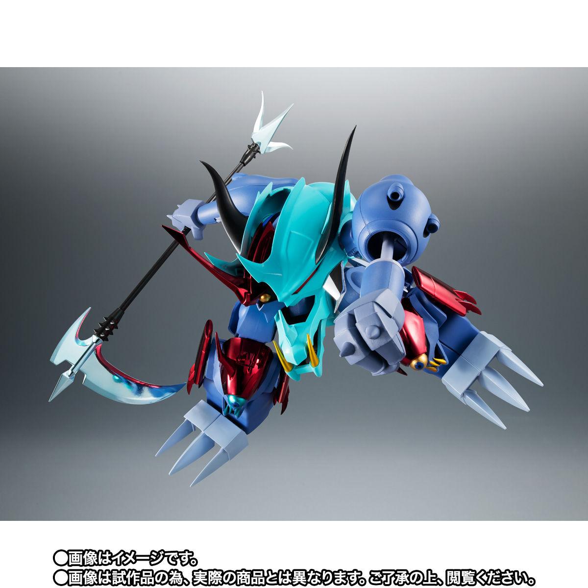 【限定販売】ROBOT魂〈SIDE MASHIN〉『ガッタイダー 30周年特別記念版』魔神英雄伝ワタル 可動フィギュア-007