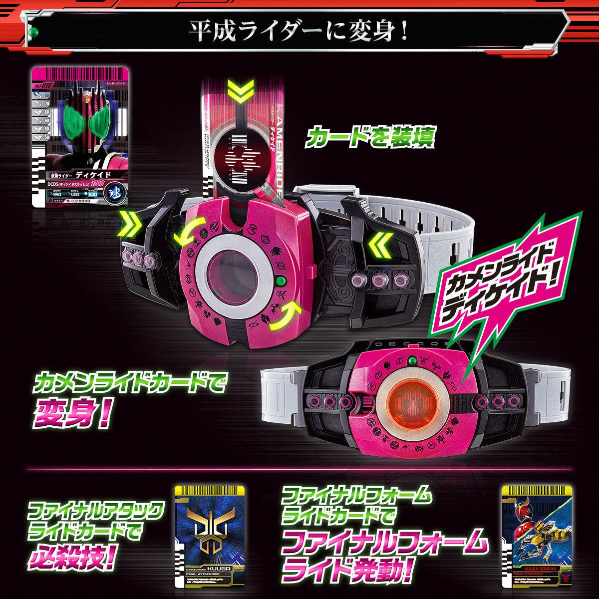 【限定販売】仮面ライダージオウ『DXネオディケイドライバー&ケータッチ21』変身ベルト-005