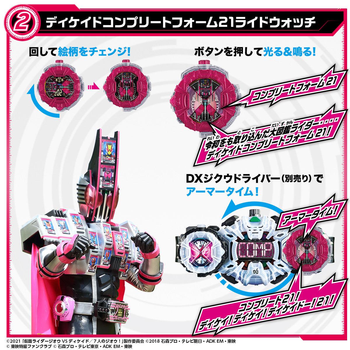 【限定販売】仮面ライダージオウ『DXネオディケイドライバー&ケータッチ21』変身なりきり-004