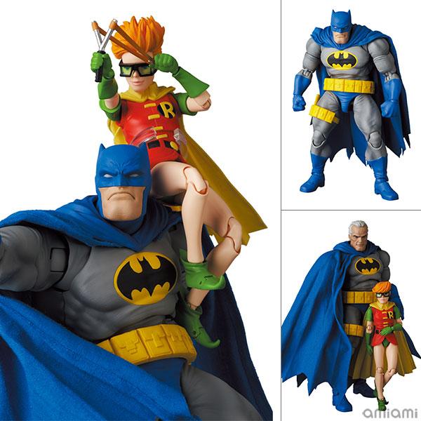 マフェックス No.133『MAFEX BATMAN BLUE Ver. & ROBIN(The Dark Knight Returns)/バットマン&ロビン』可動フィギュア