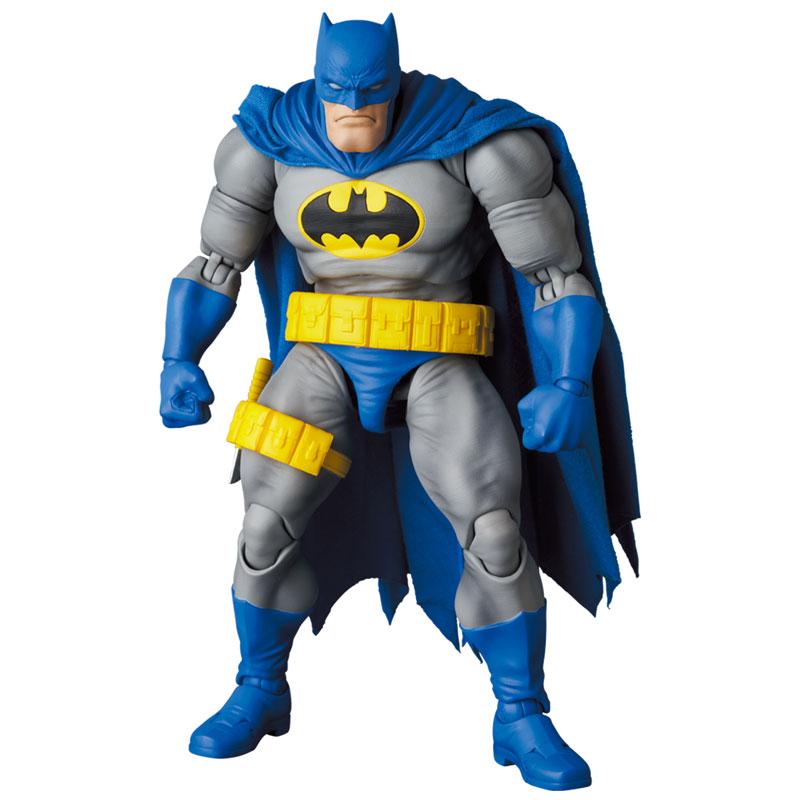 マフェックス No.133『MAFEX BATMAN BLUE Ver. & ROBIN(The Dark Knight Returns)/バットマン&ロビン』可動フィギュア-003